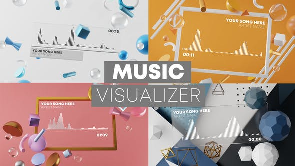 Thumbnail for 3D Music Visualizer