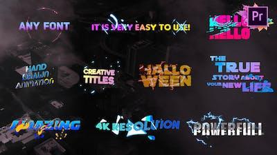 Creative Colorful Titles   Premiere Pro MOGRT