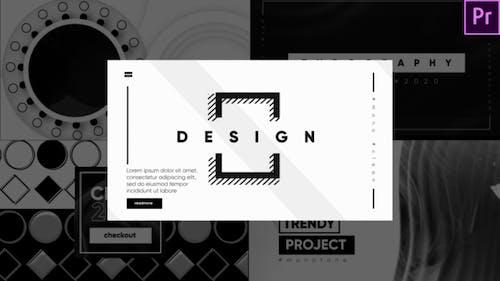Monochrome Typography
