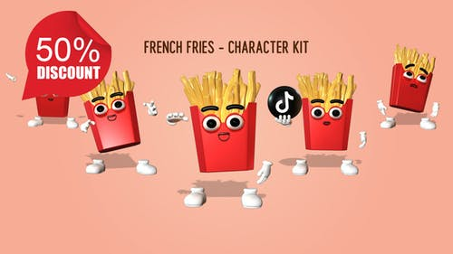 French Fries - Character Kit