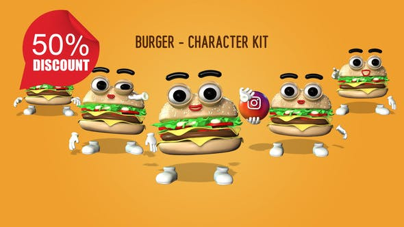 Burger - Character Kit