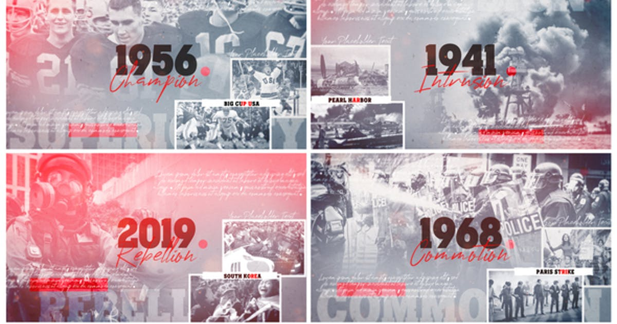 Documentary History Timeline