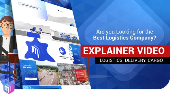 Thumbnail for Explainer Video | Logistics Services. Delivery