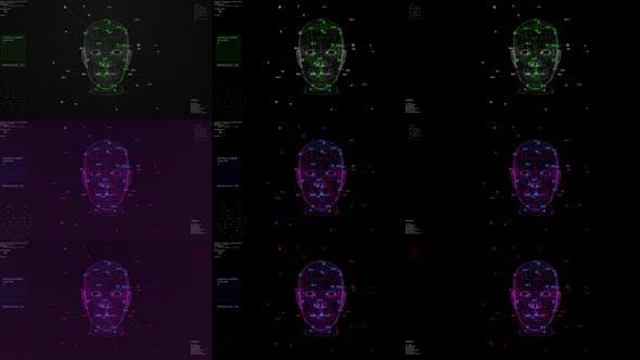 Thumbnail for Ai-Technologie für Gesichts-Scannen