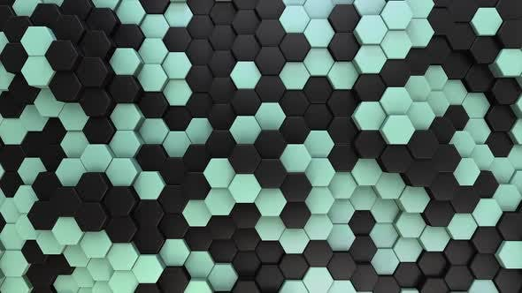 Hexagon Background Elegant 02