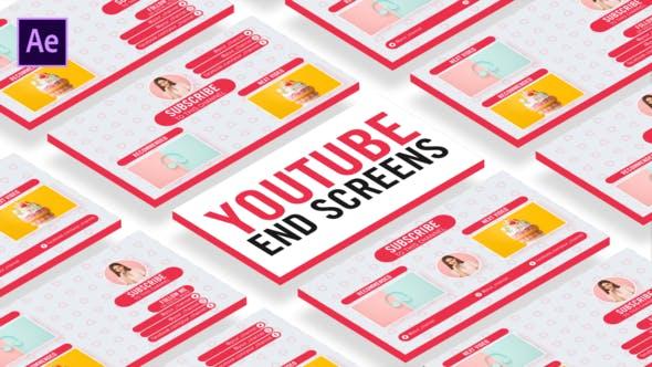 Sweet Youtube End Screens