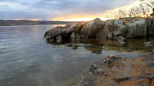 Thumbnail for Landscape Of Granite River Bank