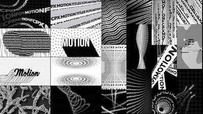 Typographic Kinetic Posters & Titles