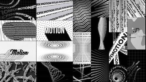 Типографские кинетические плакаты и названия