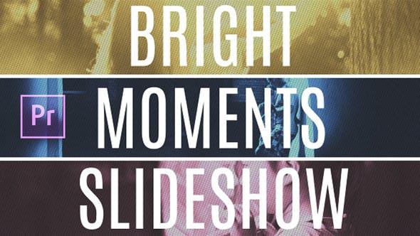 Bright Moments Slideshow MOGRT