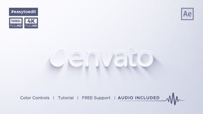 Clean & Simple Logo Reveal