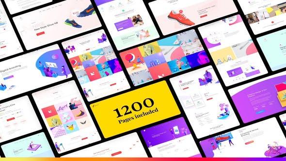 Thumbnail for Website Presentation Pack 2