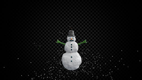 Snowman Triangles - product preview 0