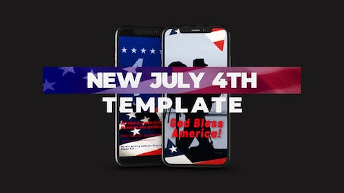 Patriot Day 4th of July Independence Day Template