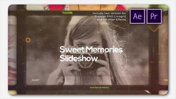 Thumbnail for Presentación de diapositivas Cinemática Sweet Memories