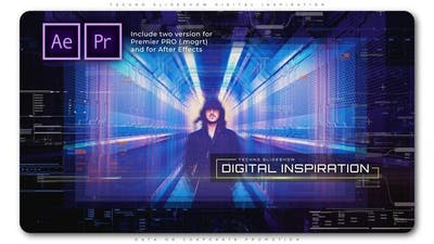 Techno Slideshow Digital Inspiration