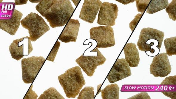 Three Variations Of Appearance Of Sugar Slicks