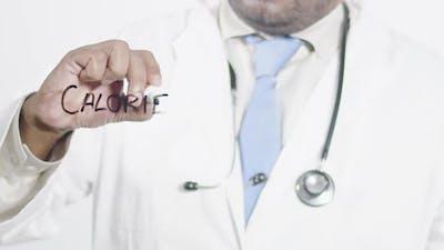 Asian Doctor Writes Calories