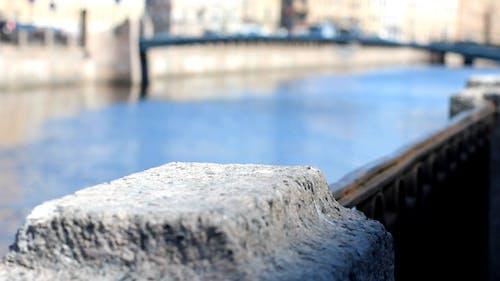 Fluss-Damm Unschärfe