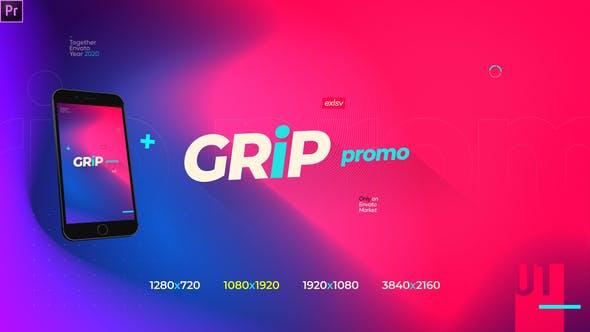 Grip Modern Gradient Opener Promotion Instagram Storie Preimere Pro Essentials