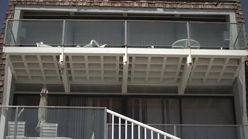 Tilt down of a building
