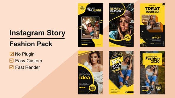 Thumbnail for Fashion Instagram Stories V05