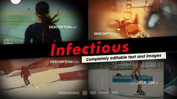 Thumbnail for Infectious - Sports Video Opener