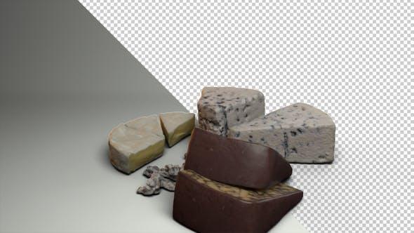 Cheese Rotating - Various Cheese