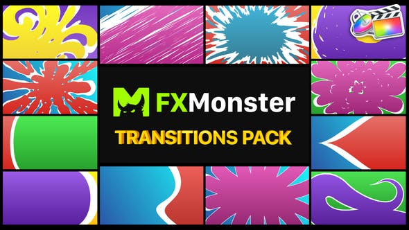Thumbnail for Colorful Smooth Transitions | FCPX
