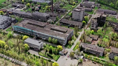 Abandoned Ruins of the Industrial Zone