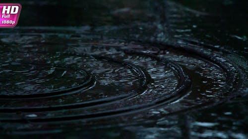 Raindrops On The Sidewalk