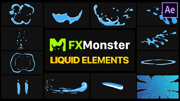 Thumbnail for Liquid FX | After Effects