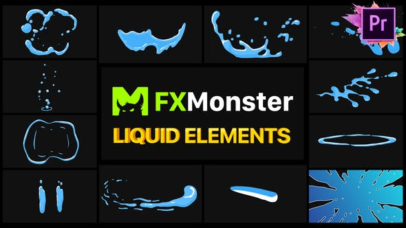 Thumbnail for Liquid FX | Premiere Pro MOGRT