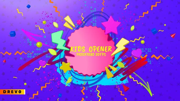 Thumbnail for Kids Opener/  Happy Birthday Opener/ Youtube Channel/ Children Show/ Cartoon/ School Education/ Toys