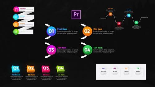 Infographic Trendy Lists- Premiere Pro