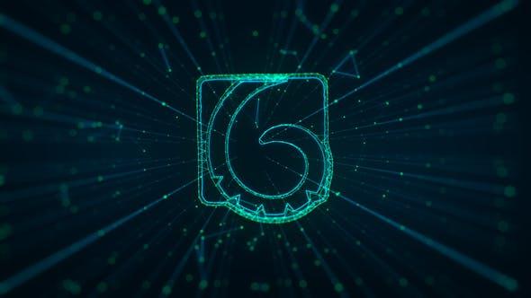 Thumbnail for The Plex   Digital Glitch Logo