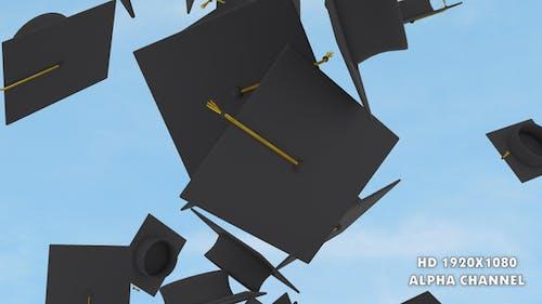 Graduation Caps Transition 2