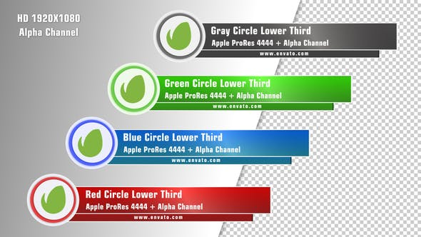 Circle Lower Third