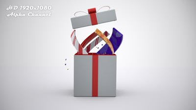 Gift Box Open 4