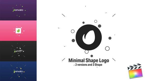 Logo de forma Minimalista