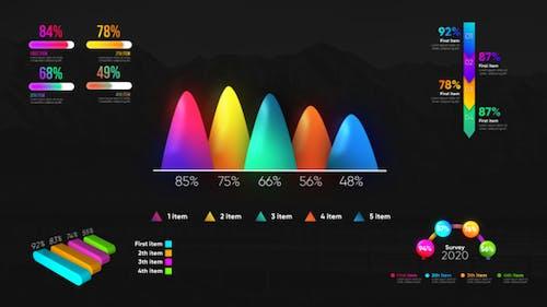 Infographic Modern Graphs