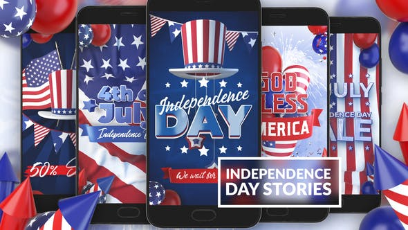 Thumbnail for 4th Of July Instagram Stories
