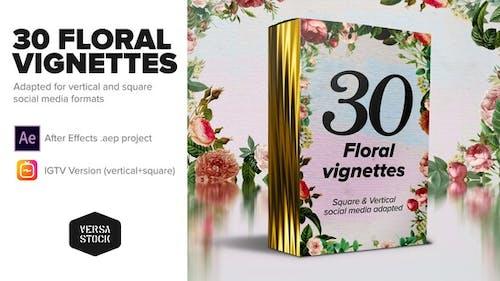 En pleine fleur - Vignettes florales