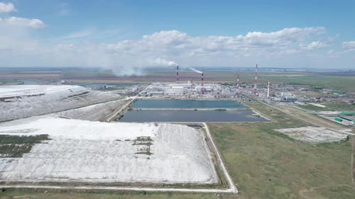 Industrial Environmental Pollution  Emission of Pollutants From Factories