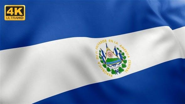 Thumbnail for El Salvador Flag - 4K
