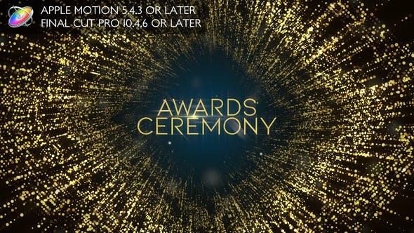 Awards Ceremony Opener - Apple Motion