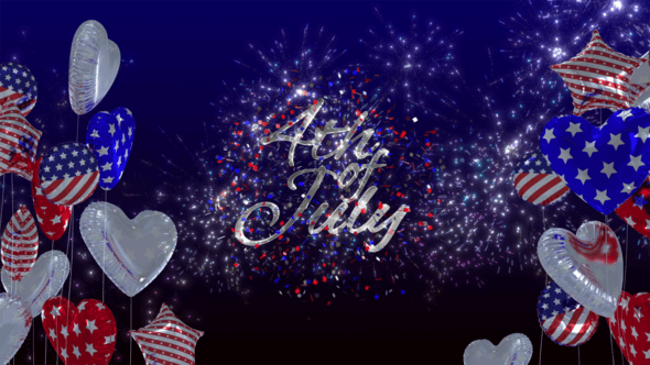Thumbnail for Fourth of July Logo Reveal