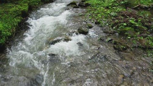 River Mountain Park Wild Water Story Green Stone Sun