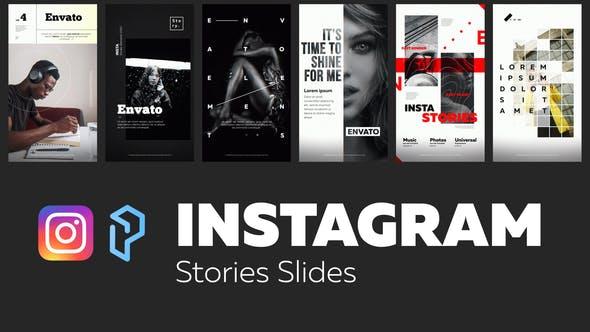 Thumbnail for Instagram Stories Slides Vol. 4