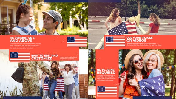 USA Patriotic Celebration Slideshow